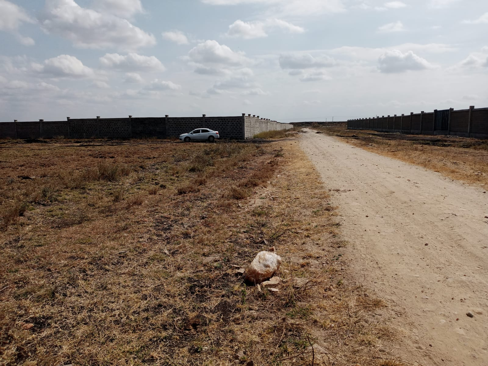 Fully Beaconed 1/4 Acre Piece Of Land In Konza